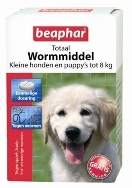 Beaphar Totaal Wormmiddel Kleine Hond en Puppy's (