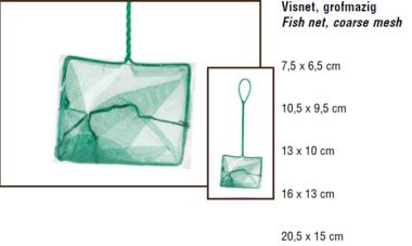 BZ Visnet Grofmazig 7.5 x 6.5 cm