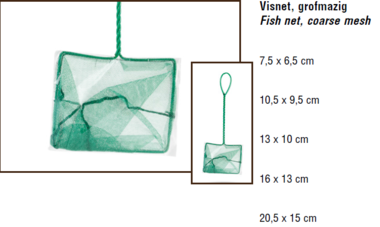 BZ Visnet Grofmazig 20.5 x 15 cm