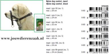 Dog Control Medium Speciaal voor de Boxer Maat 7 (34 cm)