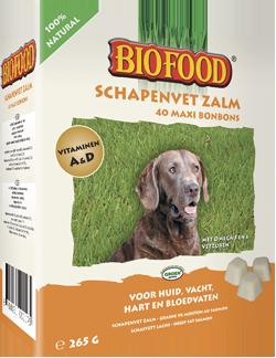 Biofood - Biofood Schapenvet Zalm Maxi