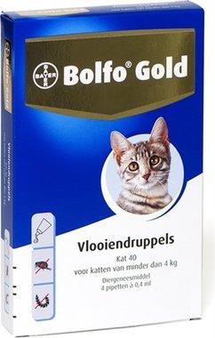 Bolfo Gold Kat 40 4 Pipetten