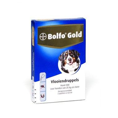 Bolfo Gold Hond 400 2 Pipetten