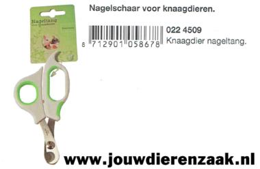 Nagelschaar voor Knaagdier