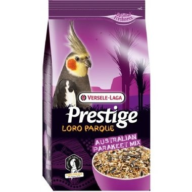 Prestige Premium Grote Parkieten Australian Parakeet Loro Parque Mix 2.5 Kg