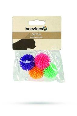 Beeztees kattenspeeltje 4 speelballetjes