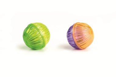 Beeztees balletjes plastic 2 st, 4 cm