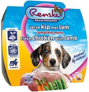 Renske Hond Pup Kip met Lam 100 gram