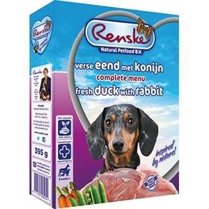 Renske Vers Eend met Konijn & Rijst 395 gram