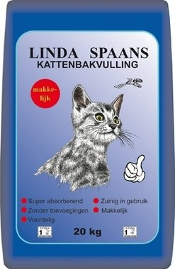 Linda kattenbakvulling spaans 20 kg