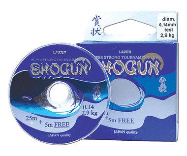 Lazer Shogun 0,14 mm 2,9 kg 25+5 Meter