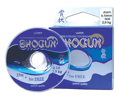 Lazer Shogun 0,18 mm 4,6 kg 25+5 Meter