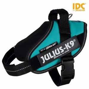 Beeztees Julius K9 IDC powertuig Baby/Mini Aqua