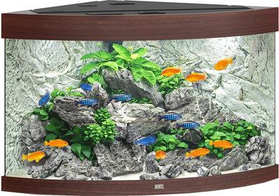 juwel trigon aquarium 190 LED donkerbruin