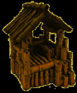 Superfish Bamboo House M