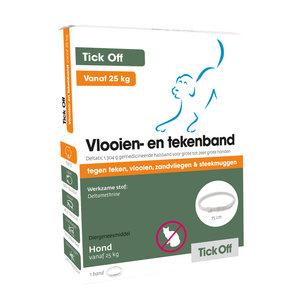 Tick Off Vlooien- en tekenband >25 kg