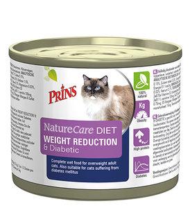 Prins Naturecare Diet Cat Weight Reduction & Diabetic - 200 g