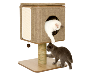 Jack and Vanilla Molly Kattenmeubel Stand Bruin