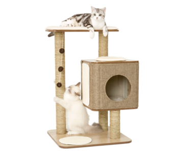 Jack and Vanilla Molly Kattenmeubel House Bruin
