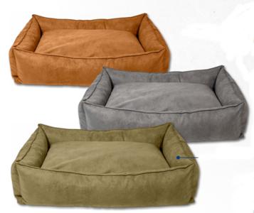 Animal Boulevard Vegan Leather Sofa L Olijf