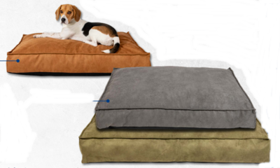 Animal Boulevard Vegan Leather Hondenbed XL Antraciet