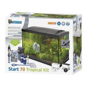 SuperFish Start 70 Tropical Kit Zwart
