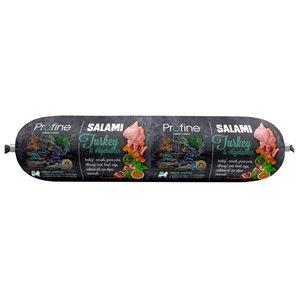 profine salami kalkoen en groenten