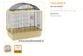 Ferplast - Palladio 5 71 x 38 x 78 cm