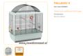 Ferplast - Palladio 4 60 x 33 x 69 cm