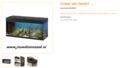 Ferplast - Dubai 100 Zwart 101x41x53cm