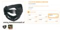 Ferplast - Culotte Hygienische Broekje Zwart Medium 46 - 52 cm