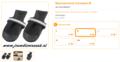 Ferplast - Protective Schoen Zwart Medium 2 Stuks