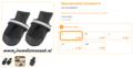 Ferplast - Protective Schoen Zwart Small 2 Stuks