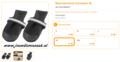 Ferplast - Protective Schoen Zwart Extra Large 2 Stuks