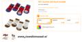 Ferplast - Anti-Slip Sokjes Small 4 Stuks