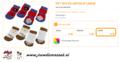 Ferplast - Anti-Slip Sokjes Large 4 Stuks