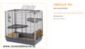 Ferplast - Cincilla KD 80 x 50 x 80 cm