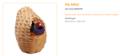 ferplast PA 4452 rieten Nestje Exotisch 8,5 x 11,5 cm